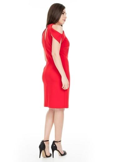 Ekol Elbise Kırmızı